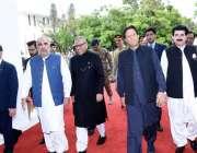 اسلام آباد:صدرمملکت ڈاکٹر عارف علوی مجلس شوری کے مشترکہ اجلاس میں شرکت ..