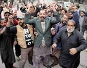 لاہور: سابق وزیر اعظم و مسلم لیگ (ن) کے صدر نواز شریف سے اظہار یکجہتی ..