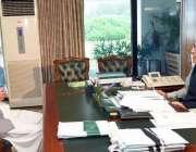 اسلام آباد: صدر مملکت ڈاکٹر عارف علوی سے ڈپٹی سپیکر خیبر پختونخوا اسمبلی ..