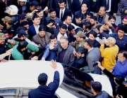 لاہور: تحریک انصاف کے مرکزی رہنما عبدالعلیم خان احتساب عدالت میں پیشی ..