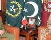 راولپنڈی: آرمی چیف جنرل قمر جاوید باجوہ سے بحرین کی نیشنل گارڈز کے کمانڈر ..