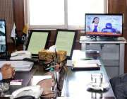 مظفر آباد: وزیر اعظم آزاد کشمیر راجہ محمد فاروق حیدر سے چیف سیکرٹری ..