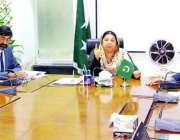 لاہور: صوبائی وزیر صحت ڈاکٹر یاسمین راشد ہیلتھ اتھارٹیز کے قیام کے ..