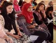 اسلام آباد: صدر آزاد کشمیر سردار مسعود خان آل آزاد کشمیر بین الجامعاتی ..