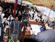 اٹک: چیف جسٹس لاہور ہائیکورٹ جسٹس سردار محمد شمیم خان ڈسٹرکٹ بار ایسوسی ..
