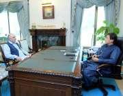 اسلام آباد: اسپیکر قومی اسمبلی اسد قیصر نے وزیر اعظم عمران خان سے ملاقات ..