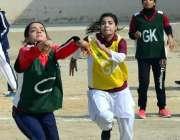 حیدر آباد: انٹر کالجیٹ ٹورنامنٹ کے موقع پر خورشید بیگم گرلز کالج اورقاسم ..