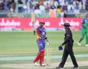 دبئی: پاکستان سپر لیگ میں کراچی کنگز کے کھلاڑی بابر اعظم سلطانز کے خلاف50رنز ..