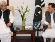 اسلام آباد: وزیر اعظم آزاد کشمیر راجہ محمد فاروق حیدر خان سے چیئرمین ..