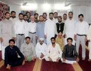 راولپنڈی: صاحبزادہ محمد شفقات مغل کی طرف سے دیئے گئے افطار ڈنر کے موقع ..
