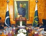 اسلام آباد: صدر مملکت ڈاکٹر عارف علوی کو وفاقی محتسب کی جانب سے بریفنگ ..