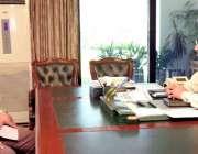 اسلام آباد: صدر مملکت ڈاکٹر عارف علوی سے وزیر داخلہ برگیڈیئر (ر) اعجاز ..