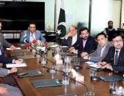 اسلام آباد: وفاقی وزیر برائے انفارمیشن ٹیکنالوجی اور ٹیلی مواصلات ..