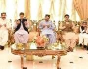 گھوٹکی: وزیر اعظم عمران خان سابق وفاقی وزیر مرحوم علی محمد خان مہر کی ..