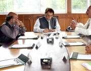 مظفر آباد: وزیر اعظم آزاد کشمیر راجا فاروق حیدر خان سے عوامی وفد ملاقات ..