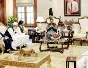لاہور: وزیر اعلیٰ پنجاب سردار عثمان بزدار سے اراکین اسمبلی ملاقات کر ..