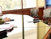 اسلام آباد: صدر مملکت ڈاکٹر عارف علوی سے بحریہ یونیورسٹی کے وائس چانسلر ..