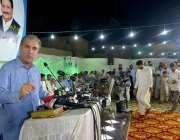 ملتان: وزیر خارجہ مخدوم شاہ محمود قریشی عید ملن پارٹی کے موقع پر خطاب ..