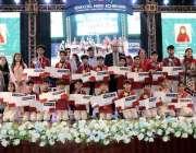 اسلام آباد: آئی جی پولیس محمد عامر ذوالفقار خان روٹس ملینیئم سکول کے ..