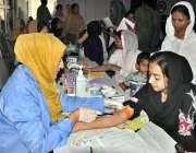 اسلام آباد: ویمن ویلفیئر ڈویلپمنٹ سینٹر جی ۔7 میں مفت دوائیں اور مفت ..