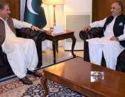 اسلام آباد: گورنر خیبر پختونخوا شاہ فرمان وزارت خارجہ میں شاہ محمود ..