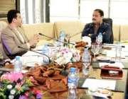 لاہور: وزیر اعلیٰ پنجاب سردار عثمان بزدار محکمہ محنت کی کارکردگی اور ..