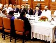 لاہور: گورنر پنجاب چوہدری محمدسرور مذہبی سیاحت و قومی ورثہ کے اعلی ..