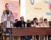 لاہور: صوبائی وزیر سکولز ایجوکیشن مراد راس فیملی میڈیسن کے موضوع پر29ویں ..