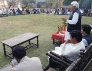 بنوں: عوامی نیشنل پارٹی کے سابق سینیٹر حاجی باز محمد خان ایڈووکیٹ یونین ..