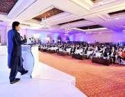 اسلام آباد: وزیر اعظم عمران خان بین الاقوامی ہاؤسنگ کانفرنس سے خطاب ..