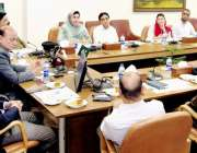 لاہور: وزیر قانون و بلدیات پنجاب راجہ بشارت قربان لائنز میں سیف سٹی ..