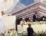ملتان: صوبائی وزیر صحت ڈاکٹر یاسمین راشد نشتر ہسپتال ٹو کی افتتاحی ..