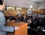 گلگت: وزیر اعلیٰ گلگت بلتستان حافظ حفیظ الرحمن خواتین کے عالمی دن کے ..