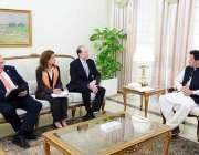 اسلام آباد: وزیراعظم عمران خان سے عالمی بینک کے صدر ڈیوڈ آرملپس ملاقات ..