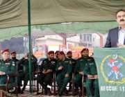لاہور: ایڈیشنل چیف سیکرٹری داخلہ کیپٹن (ر) فضیل اصغر ریسکیو1122کی پاسنگ ..