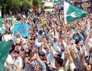لاہور: عوامی رکشہ یونین کے زیر اہتمام پریس کلب کے باہر نکالی گئی ریلی ..