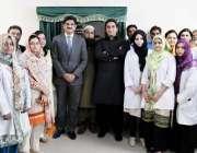 کراچی: چیئرمین پیپلز پارٹی بلاول بھٹو زرداری کا ڈو یونیورسٹی کے اوجا ..