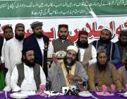 فیصل آباد: حافظ طاہر محمود اشرفی ، چیئرمین متحدہ علماء بورڈ پنجاب جامعہ ..