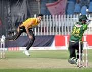 راولپنڈی: پاکستان کپ2019کے موقع پر فیڈرل ایریا اور خیبر پختونخوا کی ٹیموں ..
