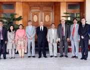 اسلام آباد: پونچھ راولاکوٹ یونیورسٹی کے 12 ویں سینیٹ اجلاس کے ممبران ..