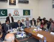 لاہور: سارک چیمبر کے سینئر نائب صدر افتخار علی ملک ایف پی سی سی آئی ریجنل ..