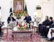 لاہور: وزیر اعلی پنجاب سردار عثمان بزدار سے راولپنڈی ڈسٹرکٹ بار ایسوی ..