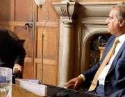 لندن: آزاد کشمیر کے وزیر اطلاعات راجہ مشتاق احمد منہاس لارڈ میئر الطاف ..