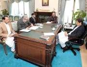 اسلام آباد: وزیراعظم عمران خان سے وفاقی وزیر امور کشمیر و گلگت بلتستان ..