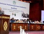اسلام آباد: وزیراعلیٰ بلوچستان میر جام کمال جناح کنونشن سنٹر میں 'انسان ..