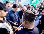 اسلام آباد: پاکستانی وزیر اعظم عمران خان 24/7 طورخم بارڈر کراسنگ کا افتتاح ..