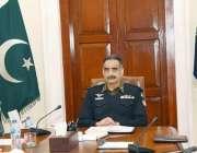 لاہور: آئی جی پنجاب شعیب دستگیر سنٹرل پولیس آفس میں سپیشل پروٹیکشن ..