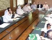 لاہور: مسلم لیگ (ن) کے صدر شہباز شریف اقبال ماڈل ٹاؤن سیکرٹریٹ میں(ن) ..