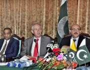 اسلام آباد: صدر آزاد کشمیر سردار مسعود خان ممبران یورپین پارلیمنٹ کے ..
