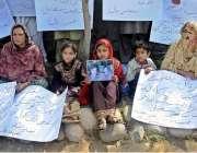 راولپنڈی: کہوٹہ کے رہائشی انصاف کے حصول کے لیے راولپنڈی پریس کلب کے ..